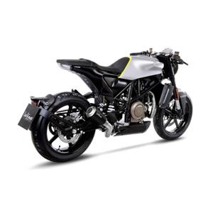 레오빈스 허스크바나 비트펠렌701 슬립온 LV10 BLACK 이녹스 매트 이녹스 (18+) 오토바이 머플러