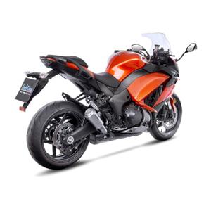 레오빈스 가와사키 Z1000SX 2 슬립온 LV10 이녹스 티타늄 이녹스 (17-18) 오토바이 머플러