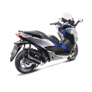 레오빈스 혼다 포르자125/NSS 125/ABS 시스템 BLACK 이녹스 매트 카본 (17-18) 오토바이 머플러 14052K