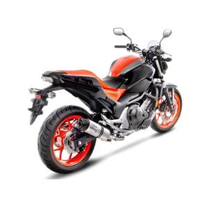 레오빈스 혼다 NC750S/X/DCT/ABS 슬립온 LV ONE EVO 이녹스 티타늄 카본 (16-18) 오토바이 머플러