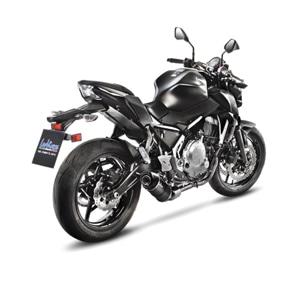 레오빈스 가와사키 Z650 풀 시스템 LV ONE EVO 카본 매트 카본 (17-18) 오토바이 머플러