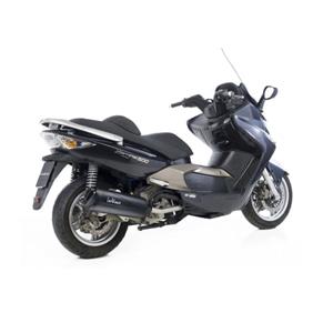 레오빈스 킴코 익사이팅500 CARBU./INJ. 시스템 GRANT. BLACK 이녹스 매트 이녹스 (05-14) 오토바이 머플러