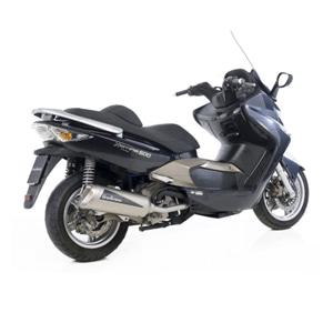 레오빈스 킴코 익사이팅500 CARBU/INJ 풀 시스템  GRANT. 이녹스 티타늄 이녹스 (05-14) 오토바이 머플러
