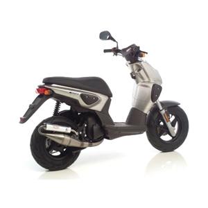 레오빈스 야마하 슬라이더50 풀 시스템 TT 알루미늄 SCOTCH 브라이트 (00-02) 오토바이 머플러