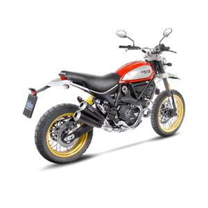 레오빈스 두카티 스크램블러800 DESERT SLED 슬립온 GP DUALS 이녹스 매트 이녹스 (17-18) 오토바이 머플러