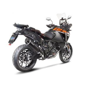 레오빈스 KTM 1290슈퍼어드벤처R/S/T 슬립온 BLACK 이녹스 매트 카본 (17-18) 오토바이 머플러