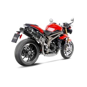 레오빈스 트라이엄프 스피트트리플1050R/S 2 슬립온 LV ONE EVO 카본 매트 카본 (16-17) 오토바이 머플러