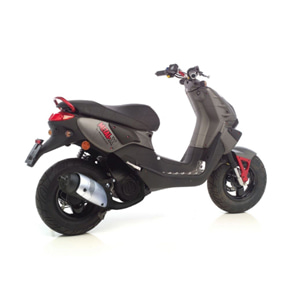레오빈스 푸조 METAL X50 풀 시스템 투어링 스틸 매트 (03+) 오토바이 머플러