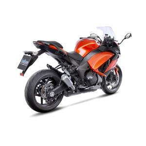 레오빈스 가와사키 Z1000SX 2 슬립온 LV10 이녹스 티타늄 이녹스 (10-16) 오토바이 머플러