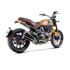 레오빈스 두카티 스크램블러800 아이콘/클래식 슬립온 GP DUALS 이녹스 매트 이녹스 (15-16) 오토바이 머플러 15101K