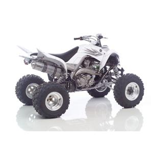 레오빈스 야마하 YFM700R 랩터 슬립온 X3 알루미늄 SCOTCH 브라이트 이녹스 (06-12) 오토바이 머플러