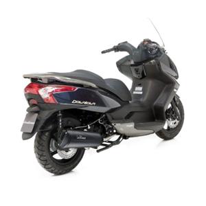 레오빈스 킴코 딩크 스트리트125I 풀 시스템 GRANT BLACK 이녹스 매트 이녹스 (09-16) 오토바이 머플러