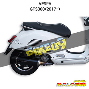 베스파 VESPA GTS300(2017-) EXHAUST SYSTEM RX Black 말로시 머플러