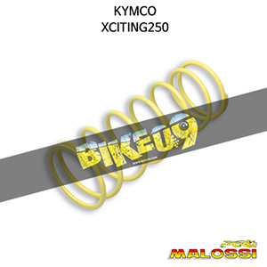 킴코 KYMCO 익사이팅250 YELLOW VARIATOR ADJUSTER SPRING ext.Ø 67,2x181mm thread Ø 4,7mm 3,6k 말로시 구동계 튜닝 파츠