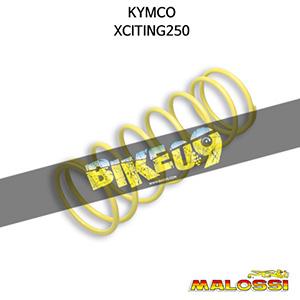 말로시 킴코 KYMCO 익사이팅250 YELLOW VARIATOR ADJUSTER SPRING ext.Ø 67,2x181mm thread Ø 4,7mm 3,6k 구동계 튜닝 파츠