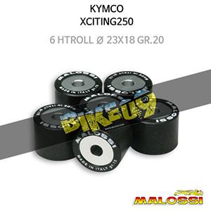 킴코 KYMCO 익사이팅250 6 HTRoll Ø 23x18 gr.20 말로시 구동계 튜닝 파츠