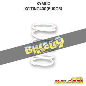 킴코 KYMCO 익사이팅400(EURO3) WHITE VARIATOR ADJUSTER SPRING ext.Ø 67,9x120mm thread Ø 5,4mm 8,8k 말로시 구동계 튜닝 파츠