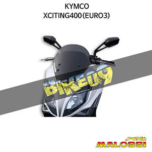 킴코 KYMCO 익사이팅400(EURO3) SPORT SCREEN - DARK SMOKE - W 440xH 380 THK 3 mm 말로시 프레임 파츠