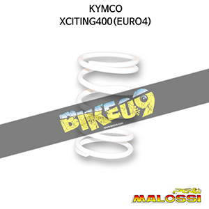 킴코 KYMCO 익사이팅400(EURO4) WHITE VARIATOR ADJUSTER SPRING ext.Ø 67,9x120mm thread Ø 5,4mm 8,8k 말로시 구동계 튜닝 파츠
