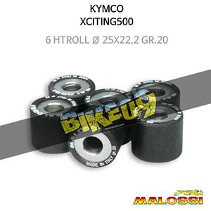 킴코 KYMCO 익사이팅500 6 HTRoll Ø 25x22,2 gr.20 말로시 구동계 튜닝 파츠