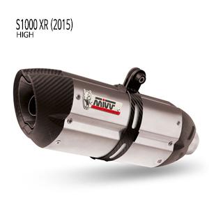 미브 S1000XR (2015) 수오노 스틸 (high) 슬립온 머플러 BMW
