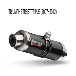 미브 스트리트 트리플 GP 블랙 스틸 슬립온 (07-12) 머플러 트라이엄프