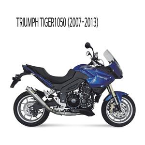 미브 타이거1050 엑스콘 스틸 슬립온 (07-13) 머플러 트라이엄프