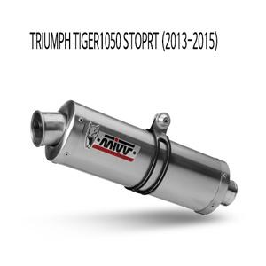 미브 타이거1050 스포츠 오벌 스틸 (2013-2015) 슬립온 머플러 트라이엄프