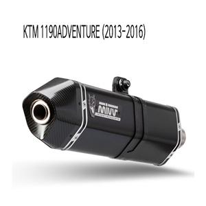 미브 (2013-2016) 1190어드벤처 스피드엣지 블랙 스틸 슬립온 머플러 KTM