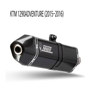 미브 1290어드벤처 (2015-2016) 스피드엣지 BLACK 스틸 슬립온 머플러 KTM