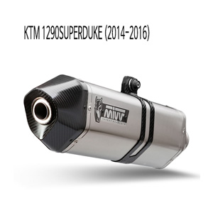 미브 1290슈퍼듀크 스피드엣지 스틸 슬립온 머플러 KTM 14-16