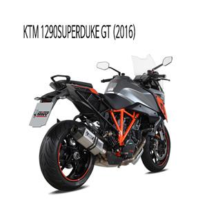 미브 1290슈퍼듀크GT 스틸 KTM (2016) 스피드엣지 슬립온 머플러