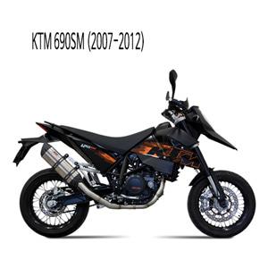 미브 690SM 머플러 KTM (07-12) 수오노 스틸 풀시스템