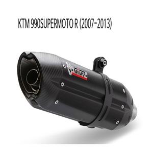 미브 990슈퍼모토R 블랙 스틸 슬립온 머플러 KTM (07-13) 수오노