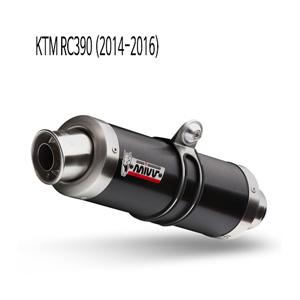 미브 RC390 KTM GP 블랙 스틸 풀시스템 머플러 (2014-2016)