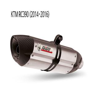 미브 RC390 (14-16) 수오노 스틸 풀시스템 머플러 KTM