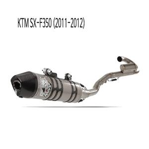 미브 SX-F350 풀시스템 머플러 KTM (11-12) 오벌 티탄
