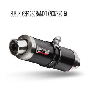 미브 GSF1250 GP 블랙 스틸 07-16 슬립온 벤디트 머플러 스즈키