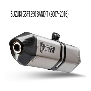 미브 GSF1250 벤디트 머플러 스즈키 (07-16) 스피드엣지 스틸 슬립온
