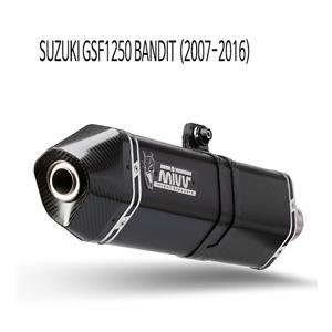 미브 GSF1250 스피드엣지 블랙 07-16 스틸 슬립온 벤디트 머플러 스즈키