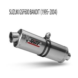 미브 GSF600 (1995-04) 오벌 스틸 슬립온 벤디트 머플러 스즈키