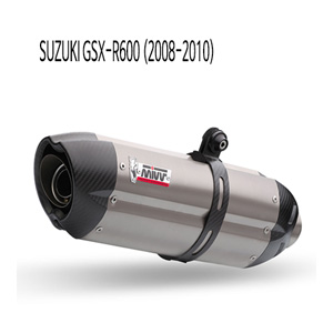 미브 (08-10) 티탄 슬립온 GSX-R600 수오노 머플러 스즈키
