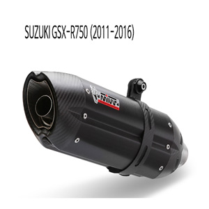 미브 GSX-R750 수오노 BLACK 스틸 슬립온 머플러 스즈키 (2011-2016)