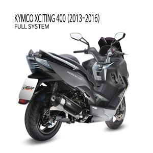 미브 익사이팅400 13-16 어반 스틸 풀시스템 머플러 킴코