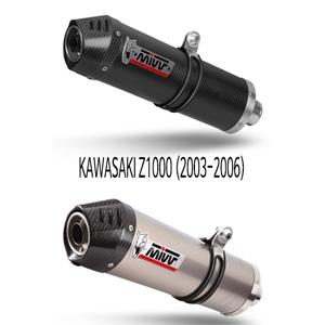 미브 Z1000 (03-06) SLIP-ON OVAL 머플러 가와사키