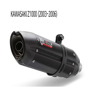 미브 Z1000 (03-06) (BLACK) 수오노 스틸 슬립온 가와사키 머플러