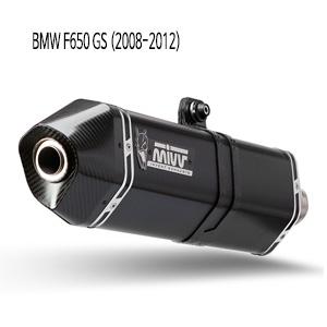 미브 F650GS 스피드엣지 08-12 블랙 스틸 슬립온 머플러 BMW