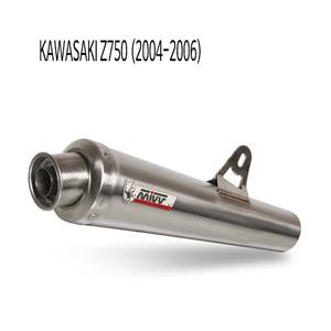 미브 Z750 (04-06) 엑스콘 스틸 슬립온 가와사키 머플러