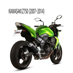 미브 Z750 BLACK GP 스틸 슬립온 가와사키 머플러 (07-14)