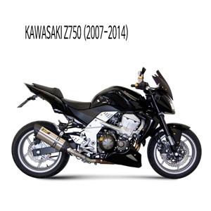 미브 Z750 (스틸) 수오노 슬립온 가와사키 머플러 (07-14)